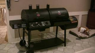 Char-Griller Duo with optional firebox