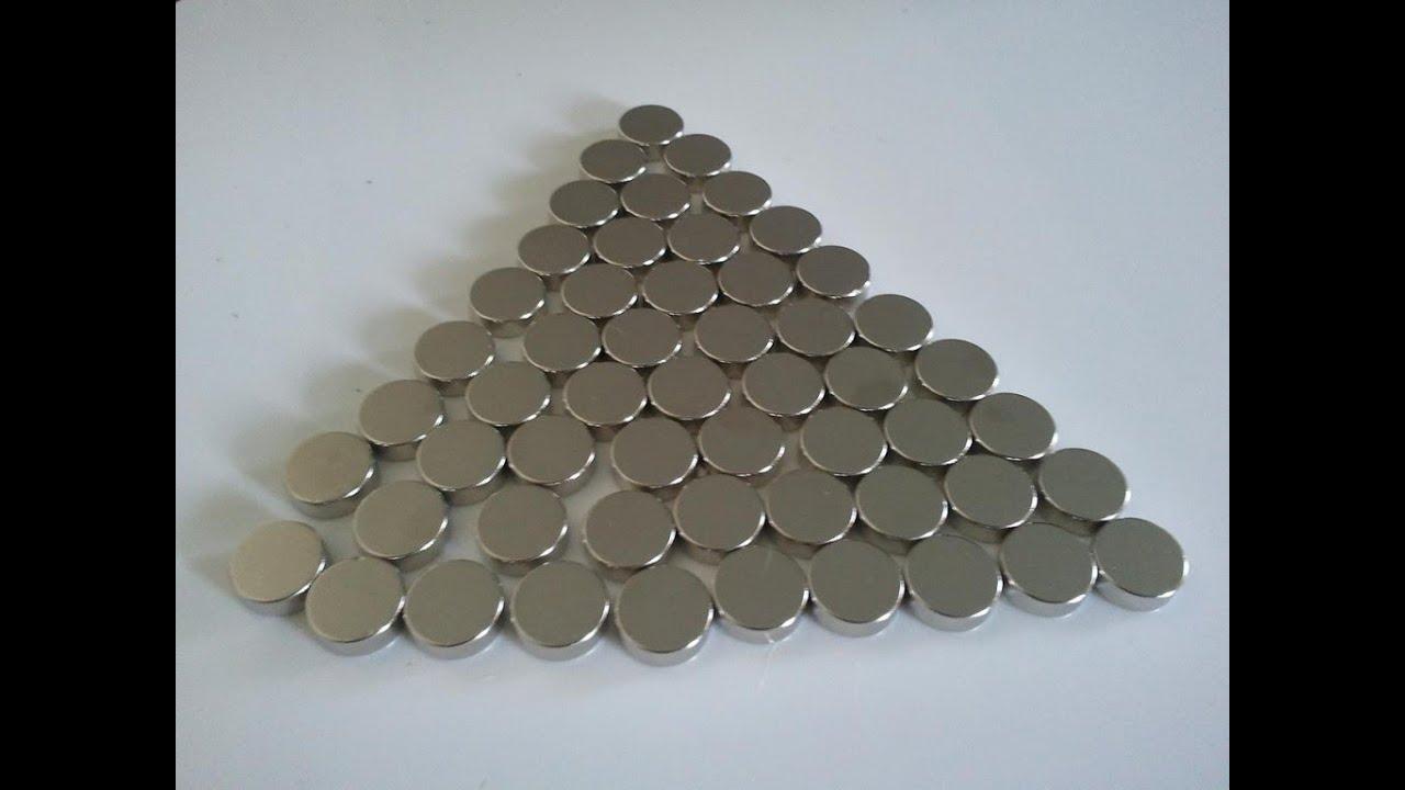 Неодимовые магниты самый популярный вид магнитов в настоящее время. Популярность этих магнитов заключается в их свойствах: они значительно мощнее традиционных ферритовых, а также имеют внушительный срок эксплуатации более 100 лет. Интернет-магазин