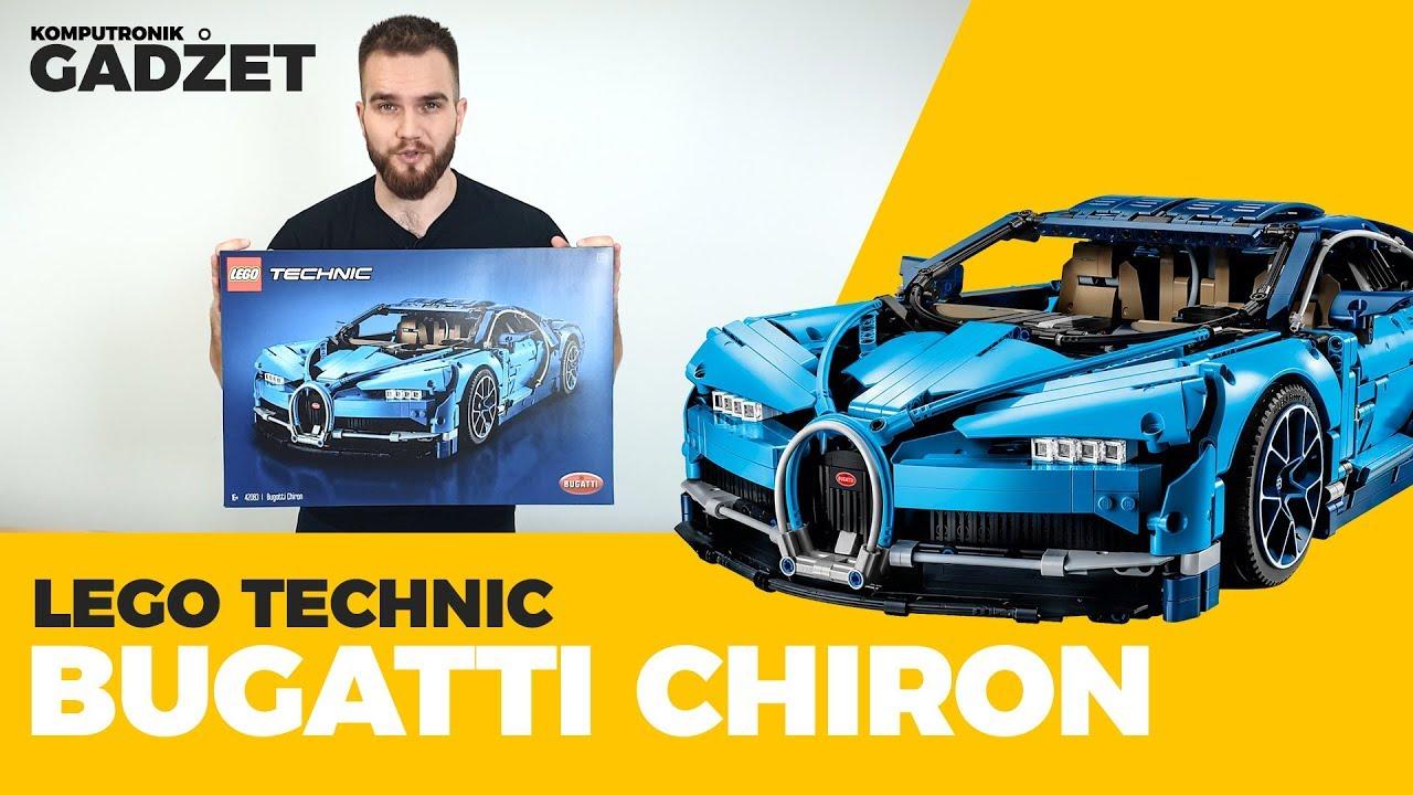 Lego Technic Bugatti Chiron Komputronik Gadżet Youtube
