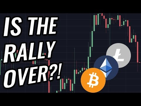 Is The Bitcoin And Crypto Market Rally Already Over?! BTC, ETH, BCH, LTC & Cryptocurrency News!