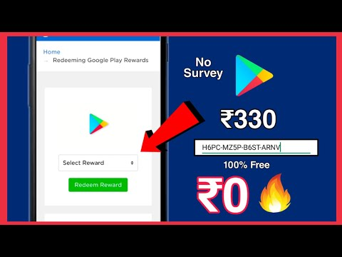 get-free-₹330-redeem-code-in-google-play-without-paytm-no-survey-no-human-verification???-2020