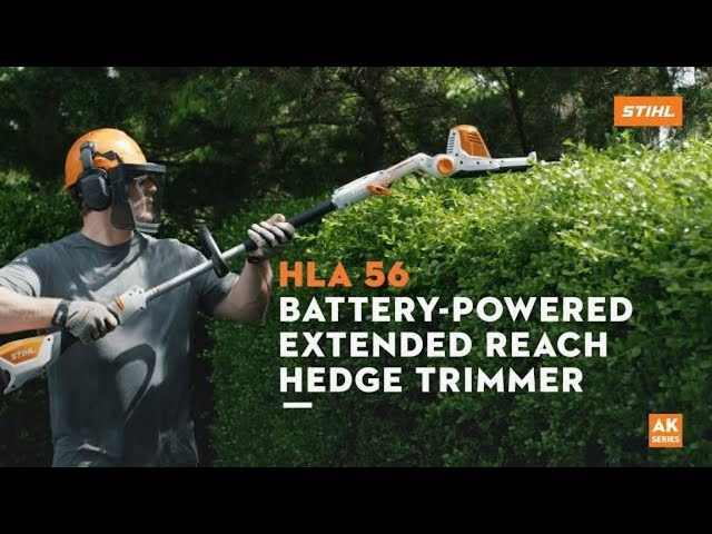 STIHL HLA 56 Battery-Powered Extended-Reach Hedge Trimmer