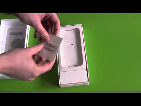 Samsung Galaxy Nexus Unboxing