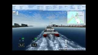 Ship simulator 2008 Gameplay [Ferry Mission] [HD]