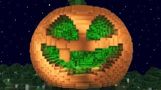 ¡LA CALABAZA MÁS ÉPICA DE MINECRAFT EN HALOWEEN! 🎃😱 MINECRAFT BUILD BATTLE #25