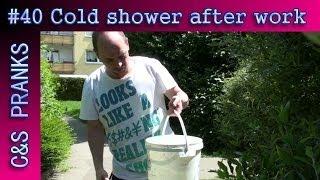 C&S PRANK GAMES #40: Cold shower after work
