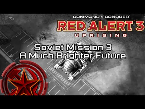 C&C Red Alert 3 Uprising - Soviet Mission 3 Yucatan, A Much Brighter Future [HD]