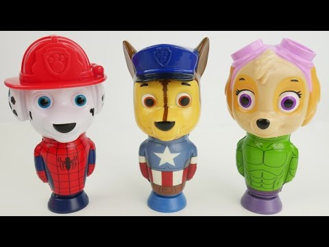 Paw Patrol Flying Preschool Toys Learn Colors with Best Kid Learning Video Half Hour Long