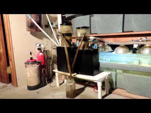 210 Gallon Reef Tank Basement Sump Room Equipment Update 10 23 14