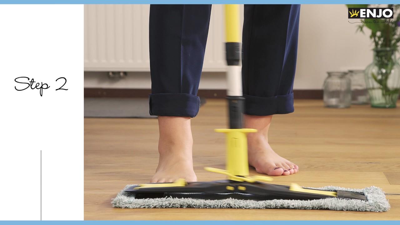 enjo how to clean your floor