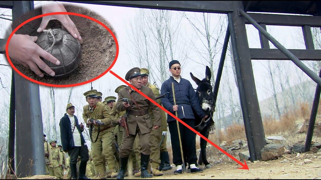 日軍怕踩國軍地雷,就讓村民帶路,結果地雷不炸村民只炸日軍!【抗日】