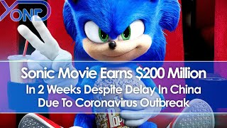 Sonic Movie Earns $200 Million In 2 Weeks Despite Delay In China Due To Virus Outbreak