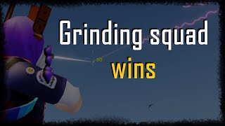 Roblox Strucid live stream 28 | grinding squad wins with handcam
