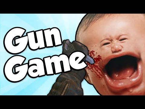 Thumbnail: GUN GAME REACTIONS MONTAGE!