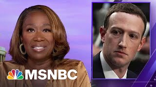 Joy Reid Critiques Facebook For Reportedly Allowing Right Wing Misinformation To Thrive