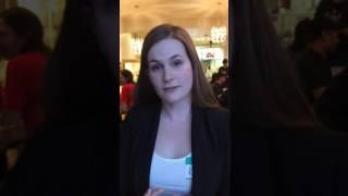 Kelly's testimonial at Veg Speed Date Toronto