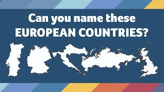 Quiz! Map Challenge - Guess the Country: Europe - How well do you know the shapes of countries?