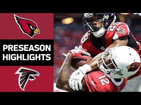 Cardinals vs. Falcons   NFL Preseason Week 3 Game Highlights