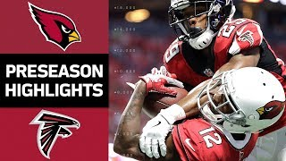 Cardinals vs. Falcons | NFL Preseason Week 3 Game Highlights