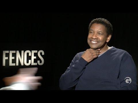 "Denzel Washington ""Keep Swinging"" Fences Interview w/ Viola Davis"