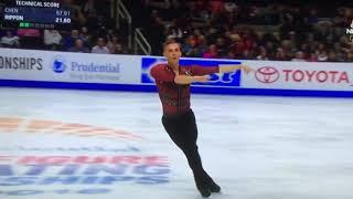 U.S. Figure Skating Adam Rippon Short Program - AMAZING