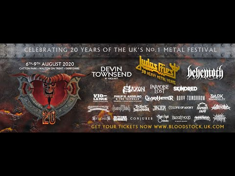 GBHBL Whiplash: Bloodstock Festival 2020 (Jan 15th Announcement)