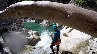 Canyon de la Clue d' Aiglun (gorges de l'Estéron, Alpes Maritimes)