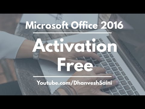 activate ms office 2016 crack