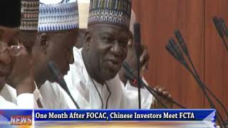 Forum On China-Africa Cooperation (FOCAC): Bello Moves Of Consolidate Outcome