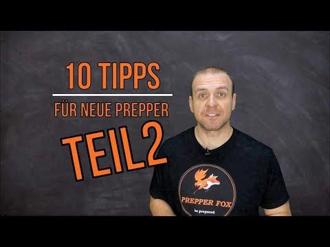 10 Tipps für neue Prepper - TEIL 2