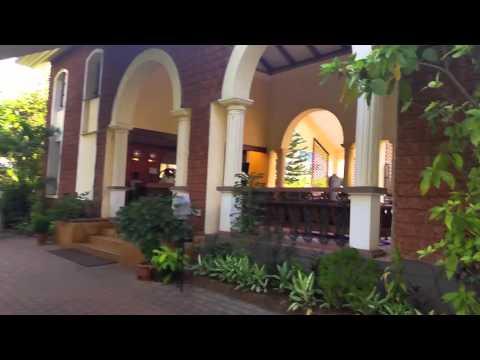 Дорога от отеля Ala Goa до пляжа