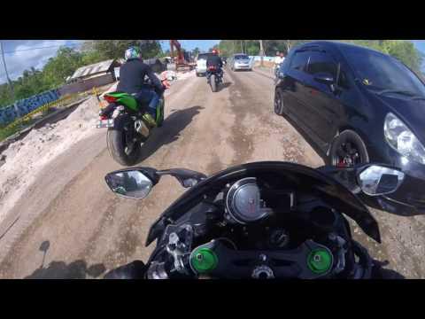CELANA DALAM BERDARAH part 3 - Sirkuit Motogp Lombok by B2C (Big Bike Community) Lombok