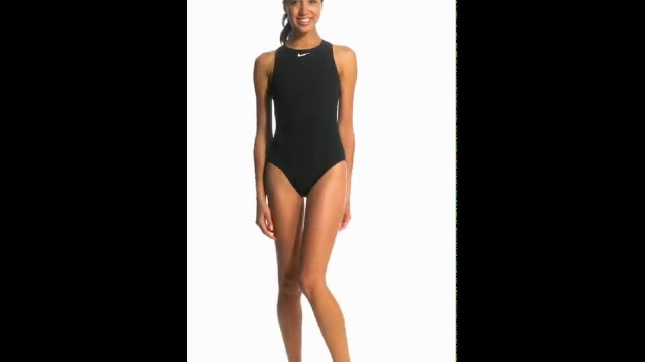 Nike Women s High Neck Tank Water Polo Swimsuit  8776b1ad405d1