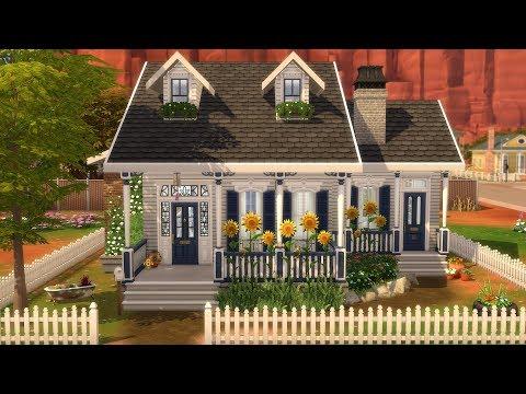 THE SIMS 4: SPEED BUILD // STRANGERVILLE STARTER HOME thumbnail