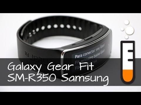 Galaxy Gear Fit SM-R350 Samsung Smartwatch - Vídeo Resenha Brasil