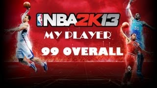 How to make your player 99 Overall NBA 2k13(PC)
