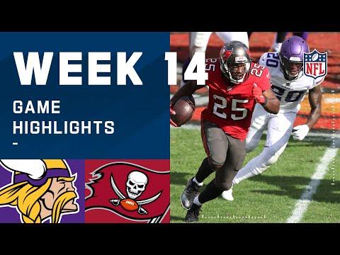 Vikings vs. Buccaneers Week 14 Highlights   NFL 2020