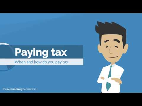 When and how to pay tax - The Accountancy Partnership