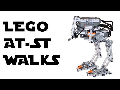 Lego Mindstorms Nxt   Humanoid Building Instructions