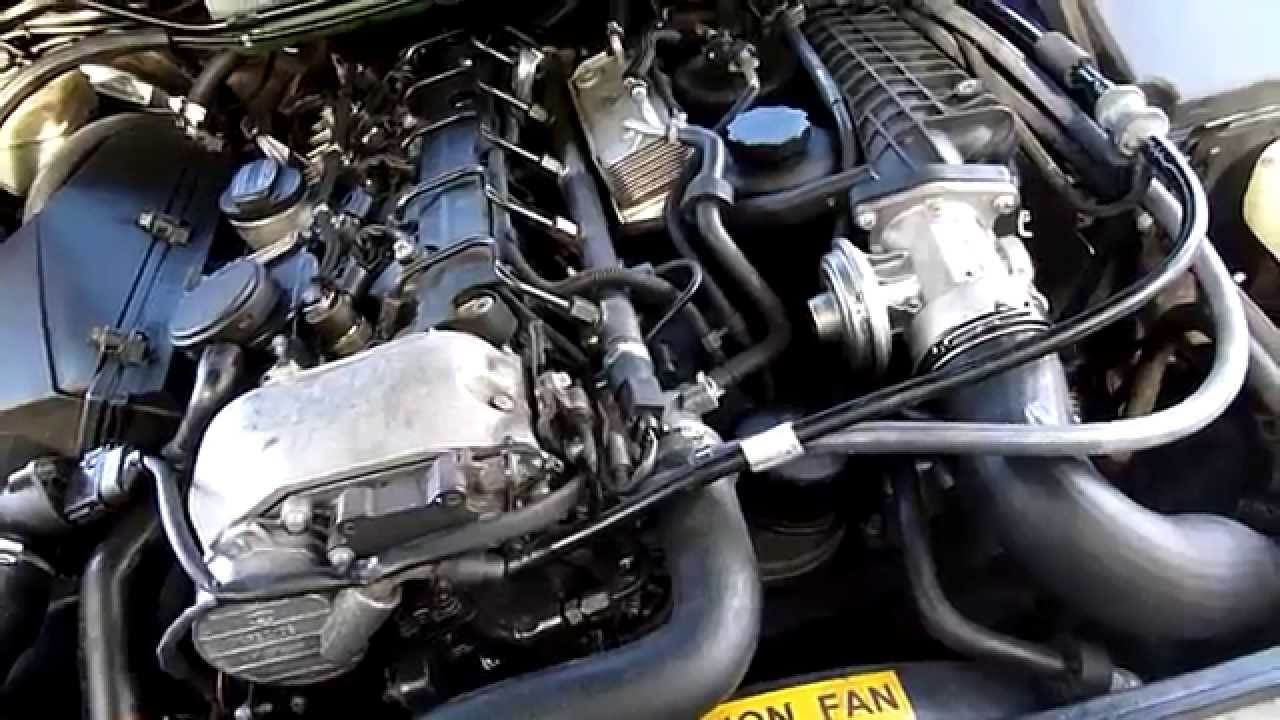 ml270 turbo inlet pipe fix and oil change