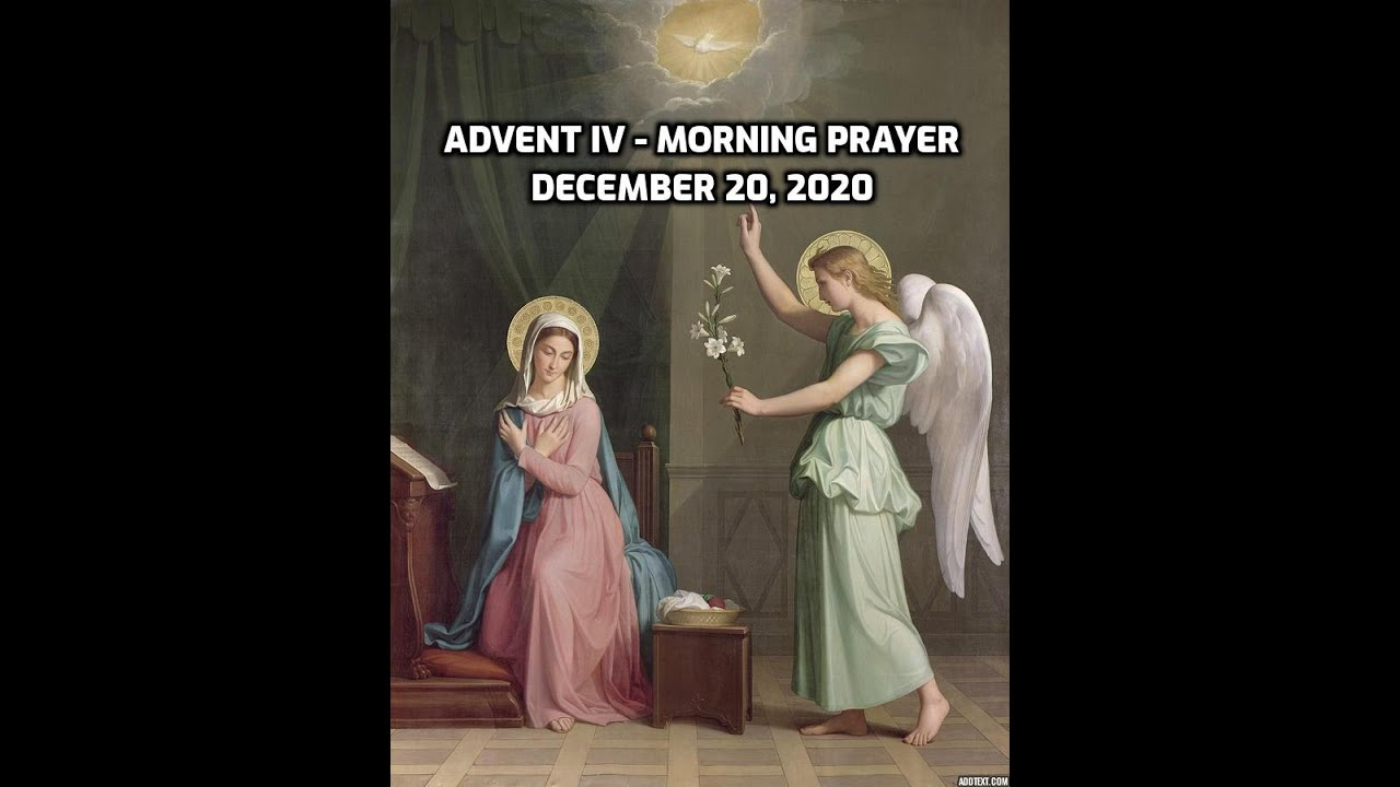 Advent IV - The Way of the Annunciation