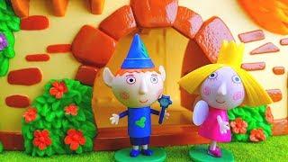 Storie con Ben e Holly per bambini nel piccolo regno, video divertenti in italiano! 😅 😱