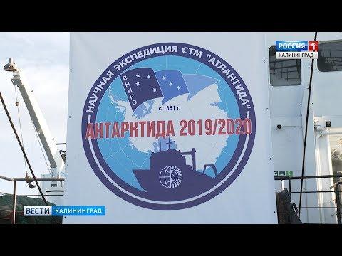 Из Калининграда в Антарктику отправляется научная экспедиция для изучения запасов криля