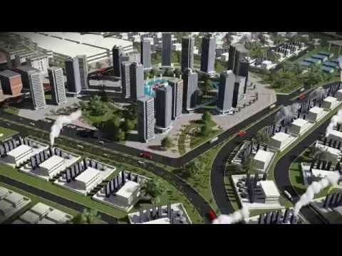 Animation of Industrial Town Urban - Egypt - lumion pro