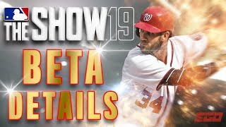 MLB The Show 19 Beta First Details