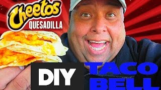 DIY TACO BELL® Cheetos Quesadilla!