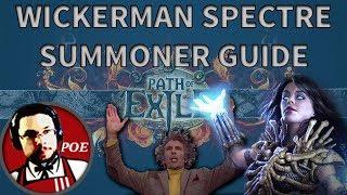Video Wickerman Spectre + SRS Summoner budget Necromancer build guide   SSFHC Fall of Oriath 3.0 PoE download MP3, 3GP, MP4, WEBM, AVI, FLV September 2017