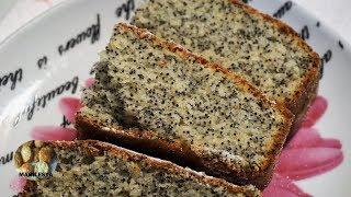 МАКОВЫЙ ПИРОГ НА СКОРУЮ РУКУ к чаю легко и просто Нежнейший и вкусный POPPY CAKE