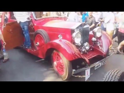 vintage and classic car show mumbai  2016
