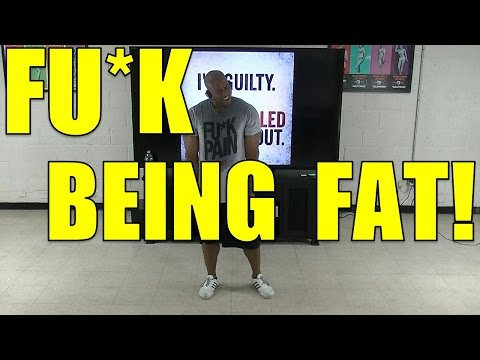 FUCK Being FAT! Fast Weight Loss HIIT Workout #3